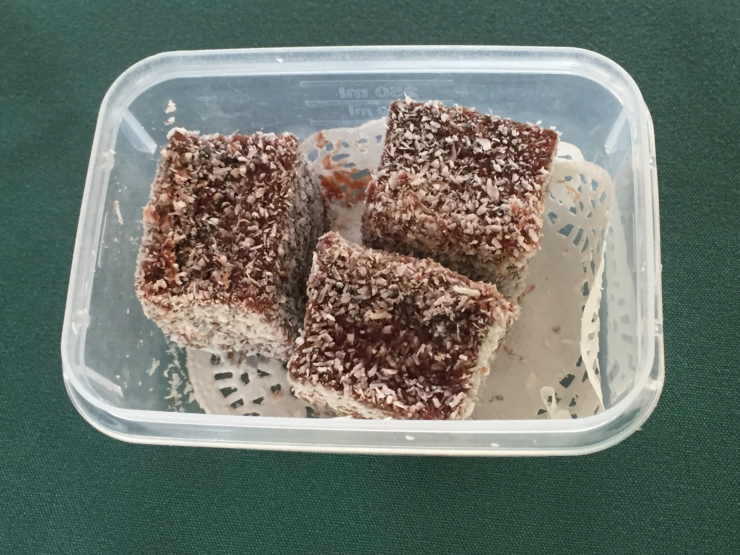 Passport for Your Palate-Lamington