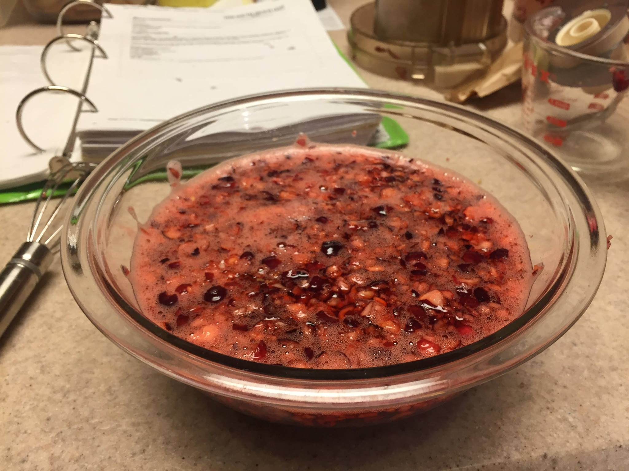 Passport for Your Palate-Jellied Cranberries