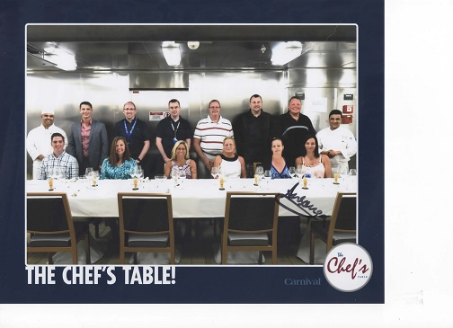 Passport for Your Palate-The Chef's Table