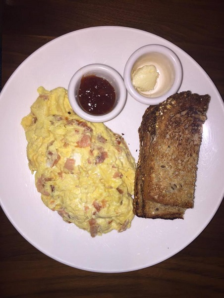 Passport for Your Palate-Salmon Scrambled Eggs