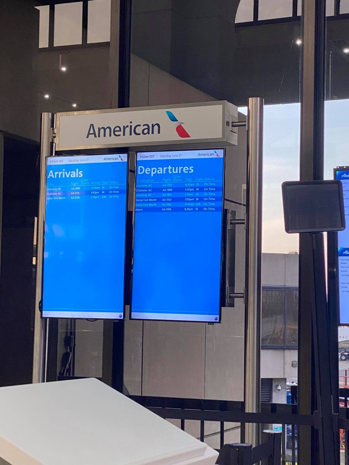 Flying American Airlines Covid-19 June 2020